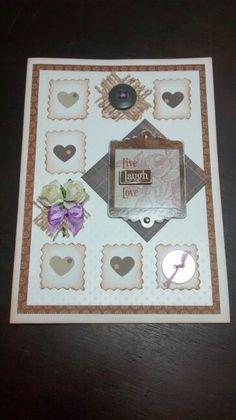 Cartão lindo para presentear uma amiga em seu aniversário!...by Ketley Mary