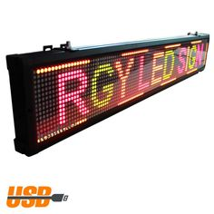 ( 5 PACK ) 40 * 6inch 3Colors OF Programmable Led Sign with Scrolling Message Display for P7.62 FULLY indoor use Led Display #Affiliate
