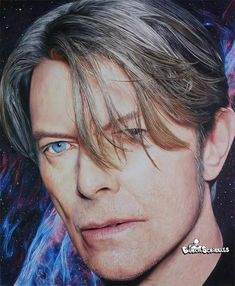 Bowie drawing by burchscribbles