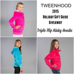 Gift idea for tween girls: Minky hoody from Triple Flip - high quality and so soft and cozy! Holiday Gift Guide, Holiday Gifts, Durham Region, Tween Girls, Promote Your Business, Top Gifts, Business Website, Hoody, Giveaways