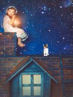 Gift Animation, Animation Stop Motion, Good Night Greetings, Good Night Messages, Good Night Gif, Good Night Image, Beautiful Fantasy Art, Beautiful Gif, Lovely Good Morning Images