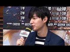 "[SSTV] 이민호(LEE MIN HO) ""돈보다, 다큐 대중화 원해"" (DMZ 더 와일드) - YouTube"