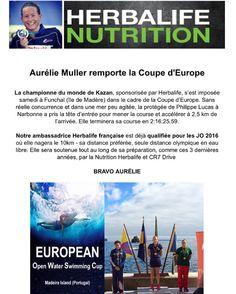 Information Athlète : Félicitation à Aurelie Müller qui remporte la Coupe d'Europe.  Encore une athlète qui a décidé de suivre notre programme ...