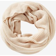 Express Mesh Loop Scarf ($9.99) ❤ liked on Polyvore featuring accessories, scarves, ivory, chunky infinity scarves, ivory infinity scarf, summer infinity scarves, infinity loop scarf and infinity circle scarf