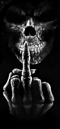 Ghost Rider Wallpaper, Graffiti Wallpaper, Skull Wallpaper, Neon Wallpaper, Evil Skull Tattoo, Skull Rose Tattoos, Dark Fantasy Art, Dark Art, Middle Finger Wallpaper