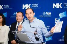 """""""Ya hicimos nuestra parte, ahora el gobernador y los presidentes municipales deben corresponder con un uso eficiente y transparente de los 54 mil mdp del presupuesto federal para Michoacán"""", aseguró ..."""