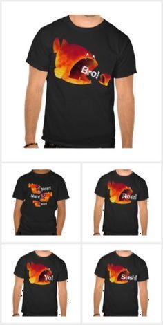 15 Funny Fish T Shirts by Paul Stickland #FunnyFish #funnytshirts #tshirts #fish