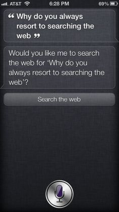 When she avoided the damn question. | 29 Times Siri Was Actually A Bit Of A Dick
