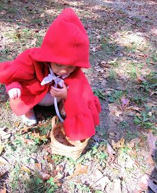 I decided to make the girls little red riding hood capes for Halloween this year since I had some fleece on hand that I'd purchased a while. Red Riding Hood Costume Kids, Costume Tutorial, Fabric Markers, Halloween Costumes For Kids, Little Red, Sewing Projects, Sewing Crafts, Homestead, Tape Measure