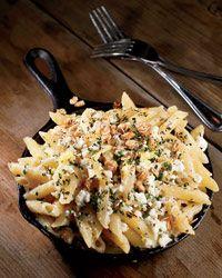 Three Cheese Mac and Cheese // More Tasty Macaroni and Cheese: http://www.foodandwine.com/slideshows/macaroni-and-cheese #foodandwine