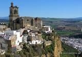 One of the most beautiful secluded places in Arcos de la Frontera, Spain.  We stayed at a parador here.