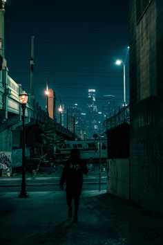 Abandono a noite / night in L.A.