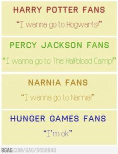 Different Fandoms