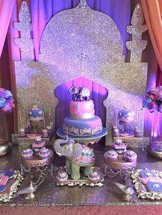 Bee Unike Events 's Birthday / Arabian Nights - Photo Gallery at Catch My Party Arabian Nights Prom, Arabian Party, Arabian Nights Theme, Arabian Theme, Aladdin Birthday Party, Aladdin Party, Birthday Parties, 50th Birthday, Birthday Celebration
