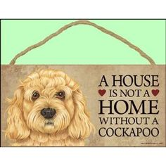 A House Is Not A Home B... Bernese Mountain Wood Dog Sign Wall Plaque 5 x 10