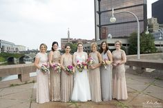Radisson Riverside Hotel Wedding Flowers by Stacy K Floral in Rochester NY captured by Robin Fox