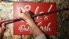 Verkauf! Nur Bares Holzschild... optisch sah das Cash nachm only besser aus...grammatikalisch egal ;) Cash only = only Cash!!  https://sign-atelier-leipzig.tumblr.com