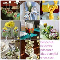 donneinpink magazine: Come decorare e addobbare la tavola pasquale