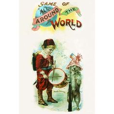 Buyenlarge 'Game of All Around the World' Vintage Advertisement