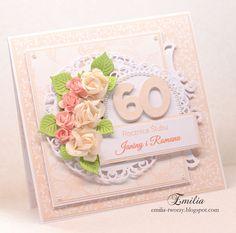 Bliźniacza.../Kartka na rocznicę ślubu/Wedding anniversary card
