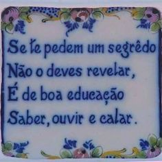 If you are planning to work in Portugal or any of the other countries where Portuguese is spoken then it can only be to your advantage to learn as much of the language as possible. Portuguese Quotes, Portuguese Lessons, Portuguese Culture, Learn Portuguese, Portuguese Tiles, Portuguese Phrases, Figure Of Speech, Vintage Tile, Lisbon Portugal