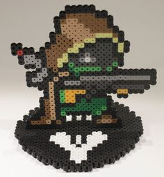 Destiny Hunter Stand-up Perler Sprite by TheiBead on Etsy https://www.etsy.com/listing/231132467/destiny-hunter-stand-up-perler-sprite