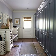 Degraw And Dehaan Architects Laundry Mud Rooms White Lattice Umbrella Stand Long Mudroom Beadboard In Mudr