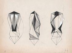 Crystal ♥ #illustration #crystal #art