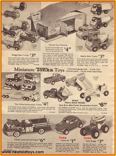 Image result for images 1950s tonka cement mixer truck ads