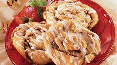 Cinnamon,  brown sugar and pecans combine in a cinnamon roll made easy with Pillsbury® crescent dough.