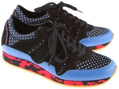 Dolce & Gabbana CS1251,  running shoes with print.