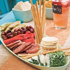 Simple Antipasto Platter Recipe | MyRecipes.com