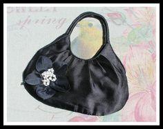 Vintage Abentasche Stoff mit Perlen von *Coco Mademoiselle* auf DaWanda.com
