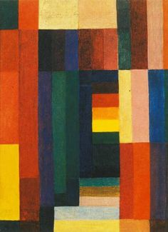 Johannes Itten - Horizontal Vertical, 1915