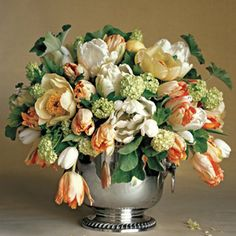 what a great way to instantly lift your spirits a MARTHA  bouquet of your own making!