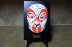 Sun Wukong Opera Mask Vintage Handmade Mask by KSTHISTHATTREASURES