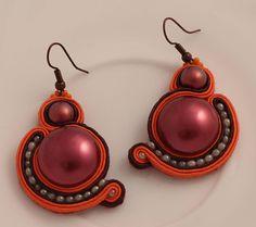 Link soutache earrings
