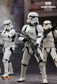 Hot Toys : Rogue One: A Star Wars Story - Stormtroopers scale Collectible Figures Set Star Wars Characters Pictures, Star Wars Pictures, Star Wars Images, Star Wars Toys, Star Wars Art, Stargate, Star Wars History, Rogue One Star Wars, Star Wars Painting