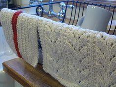 homespun living: knitting...