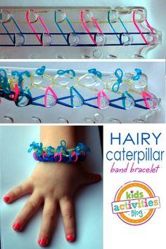 10 {MORE} Band Bracelets for Kids to Make - Kids Activities Blog