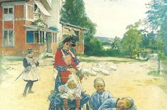 """My Family"", Carl Larsson 1892."