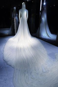 HRH Crown Princess Mette-Marit.  Her dress looked like a cloud.  An unusually long veil of 25 feet.  Beautiful