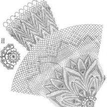 Home Decor Crochet Patterns Part 154 - Beautiful Crochet Patterns and Knitting Patterns Crochet Doily Diagram, Crochet Doily Patterns, Crochet Mandala, Crochet Art, Crochet Doilies, Knitting Patterns, Diy Crafts Crochet, Crochet Home Decor, Crochet Tablecloth