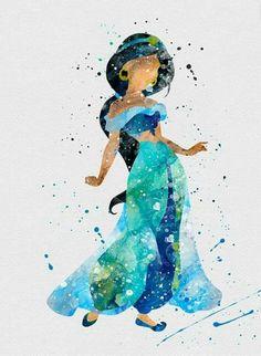 Princess jasmin art