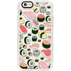 CASETIFY Sushi Fun! iPhone 6 case ($43) ❤ liked on Polyvore featuring accessories and tech accessories