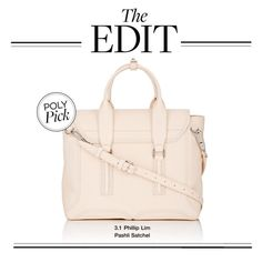 """""""The Edit: 3.1 Phillip Lim Pashli Satchel"""" by polyvore-editorial ❤ liked on Polyvore featuring theedit"""