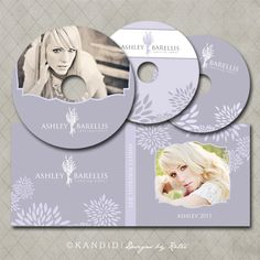 DVD Case and DVD Label Templates for Millers Lab- Ashley Collection. $10.00, via Etsy.