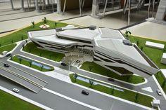 Museum Architecture, Architecture Board, Residential Architecture, Amazing Architecture, Architecture Design, Industrial Architecture, Organic Architecture, Futuristic Architecture, Plaza Design