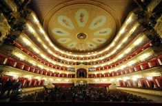 The Bolshoi Theatre, Moscow, is a historic theatre designed by architect Joseph Bové