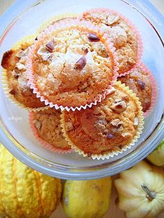 Jesienne muffinki z dynią